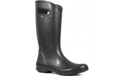 "Bogs 72400-001 - Women's - 13"" Rain Boot Glitter - Black"