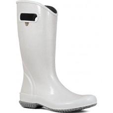 """Bogs 72400-040 - Women's - 13"""" Rain Boot Glitter - Silver"""