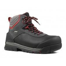 "Bogs 72475CT-009 - Men's - 8"" Bedrock Shell Composite Toe - Black Multi"