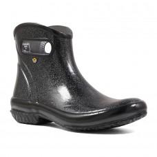 Bogs 72532-001 - Women's - Rain Boot Ankle Glitter - Black