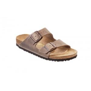 Birkenstock 352201M - Men's - Arizona Oiled Leather - Tobacco Brown (Regular Width)