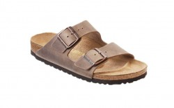 Birkenstock 352203M - Men's - Arizona Oiled Leather - Tobacco Brown (Narrow Width)
