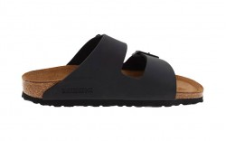 Birkenstock - Men's - Arizona Black Birko-Flor - 51793 (Narrow Width)