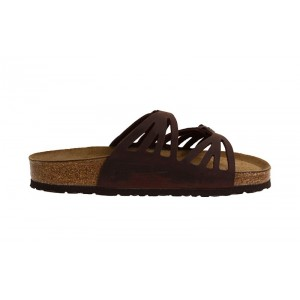 Birkenstock - Women's - Granada Soft Footbed Habana Oiled Leather - 92653 (Narrow Width)