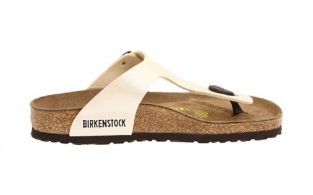 Birkenstock - Women's - Gizeh Antique Lace Birko-Flor - 943873 (Narrow Width)