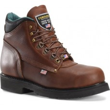 "Carolina 1309 - Men's - 6"" Amber Gold Safety Toe - Amber Gold"