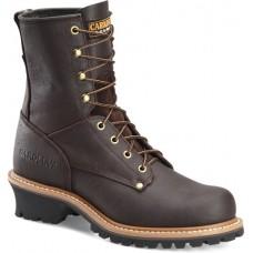 "Carolina 1821 - Men's - 8"" Safety Toe Logger - Briar Pitstop"
