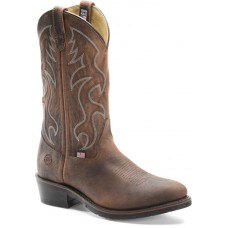 Double H 3282 - Men's - 12 Inch Domestic AG7 Work Western - Light Brown