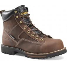 "Carolina CA5545 - Men's - 6"" Lace-to-Toe Carbon Composite Toe Hiker - Brown"