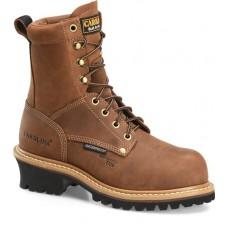 "Carolina CA1435 - Women's - 8"" Waterproof Composite Toe Logger - Brown"