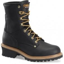 "Carolina CA1825 - Men's - 8"" Safety Toe Logger - Black"