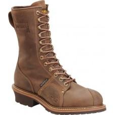 """Carolina CA1904 - Men's - 10"""" Waterproof Composite Toe Lineman Boot - Cork Harness"""