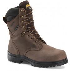 "Carolina CA3034 - Men's - 8"" Waterproof Insulated Work Boot - Dusty Brown"