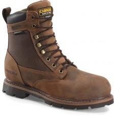"Carolina CA3056 - Men's - 8"" Waterproof Insulated Soft Toe Work Boot - Brown"