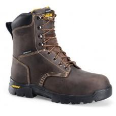"Carolina CA3538 - Men's - 8"" Waterproof Insulated Comp Toe Work Boot - Brown"