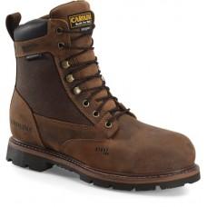 "Carolina CA3556 - Men's - 8"" Waterproof Insulated Steel Toe Work Boot - Brown"