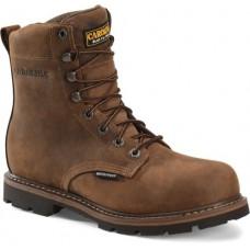"Carolina CA3557 - Men's - 8 inch"" Waterproof Steel Toe Work Boot - Brown"