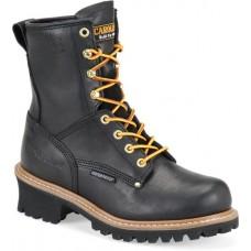 "Carolina CA420 - Women's - 8"" Waterproof Soft Toe Logger - Black"