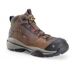 "Carolina CA4551 - Men's - 5 inch"" Waterproof Carbon Composite Toe 4x4 Hiker - Olive"