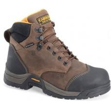 "Carolina CA5522 - Men's - 6"" Broad Toe WP ESD Carbon Composite Toe - Bandit Brown"