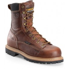 "Carolina CA5529 - Men's - 8"" Waterproof Lace to Toe Composite Toe Work Boot - Brown"
