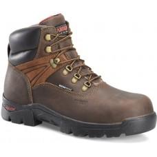 "Carolina CA5537 - Men's - 6"" Waterproof Composite Toe Work Boot - Brown"