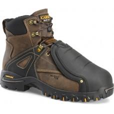 "Carolina CA5586 - Men's - 6"" Waterproof Comp Toe Tiger D3O External Metguard - Brown"