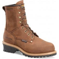 "Carolina CA5821 - Men's - 8"" Insulated Waterproof Safety Toe Logger - Copper"
