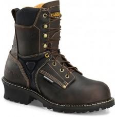 """Carolina CA6921 - Men's - 8"""" Waterproof Composite Toe Logger - Brown"""