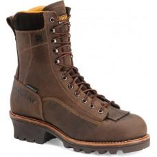 """Carolina CA7022 - Men's - 8"""" Waterproof Soft Toe Logger - Brown"""