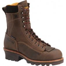 """Carolina CA7522 - Men's - 8"""" Waterproof Composite Toe Logger - Brown"""