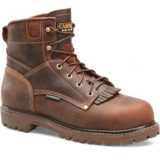 """Carolina CA7528 - Men's - 6"""" Waterproof Composite Toe - Cigar Brown"""