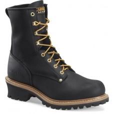 "Carolina CA825 - Men's - 8"" Soft Toe Logger - Black"