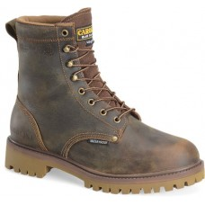 "Carolina CA8588 - Men's - 8"" Waterproof Insulated Steel Toe - Brown"