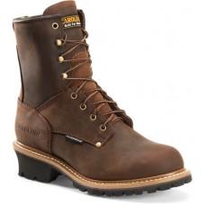 "Carolina CA8821 - Men's - 8"" Waterproof  Logger - Copper"