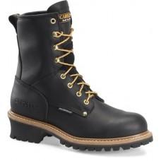 "Carolina CA8823 - Men's - 8"" Waterproof Soft Toe Logger - Black"