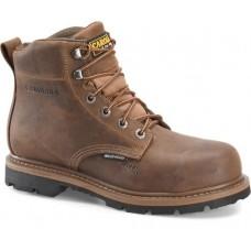 "Carolina CA9536 - Men's - 6"" Waterproof Steel Toe Work Boot - Brown"