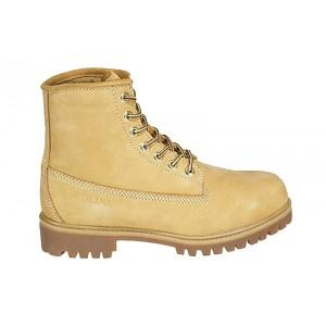 "Carolina 3045 - Men's - 6"" Waterproof Wheat Soft Toe"