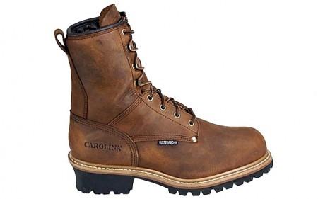 "Carolina 4821 - Men's - 8"" Insulated Waterproof Soft Toe Logger"