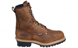 "Carolina 5821 - Men's - 8"" Insulated Waterproof Safety Toe Logger"