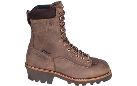 "Carolina 7021 - Men's - 8"" Insulated Waterproof Soft Toe Logger"
