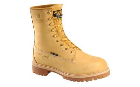 "Carolina 7145 - Men's - 8"" Insulated Waterproof Wheat Soft Toe"