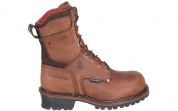 "Carolina 8508 - Men's - 9"" Insulated Waterproof Safety Toe Logger"