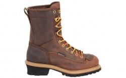 Carolina 9824 - Men's - 8 Inch Waterproof Lace to Toe Steel Logger