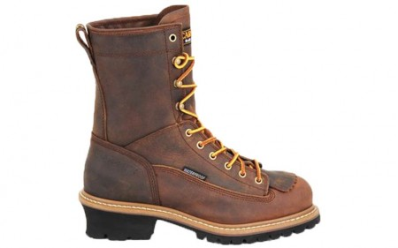 Carolina 9824 - Men's - 8 Inch Waterproof Lace to Toe Steel Logger