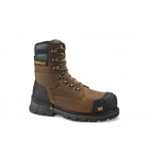 """Caterpillar - Men's - 90996 Excavator XL 8"""" Waterproof TX Composite Toe - Dark Brown"""