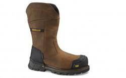 Caterpillar - Men's - 90999 Excavator XL Pull-On Waterproof Composite Toe - Dark Brown