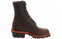 Chippewa 20091 - Men's - Steel Toe 8 Inch Chocolate Apache EH Logger