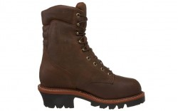 Chippewa 25407 - Men's - Waterproof Steel Toe 9 Inch Bay Apache EH Super Logger