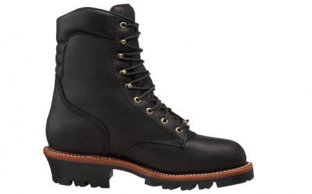 Chippewa 25410 - Men's - Waterproof Insulated Steel Toe 9 Inch Black Oiled EH Super Logger